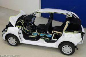 Peugeot Lanzará Nuevo Automóvil Híbrido que funcionará con aire