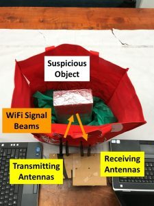 Rutgers Utiliza WiFi para detectar Armas